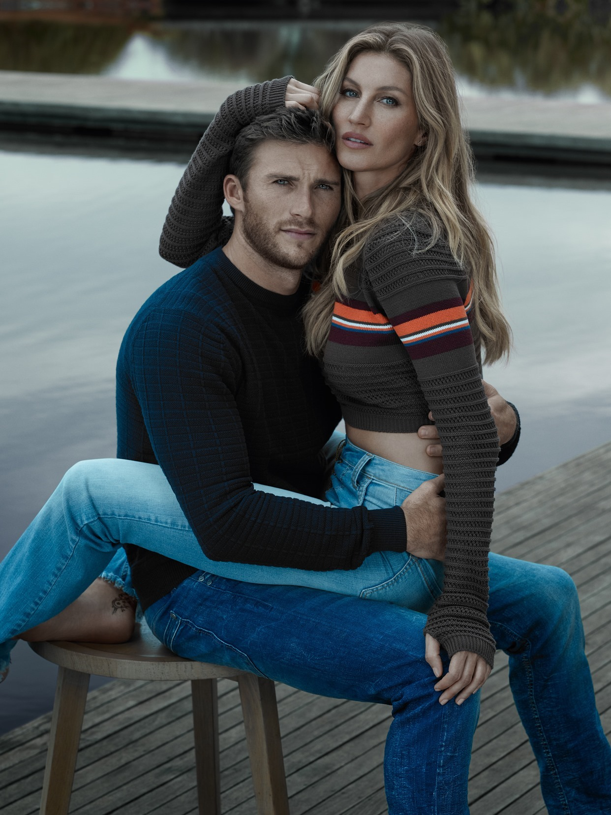 c2a81845324 CAMPAIGN  Gisele Bundchen   Scott Eastwood for Colcci Fall 2016 by Gui  Paganini