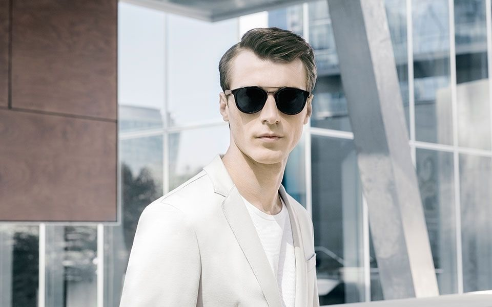 e4bf8616d8d5 CAMPAIGN Clement Chabernaud for Hugo Boss Eyewear 2016.  www.imageamplified.com, Image