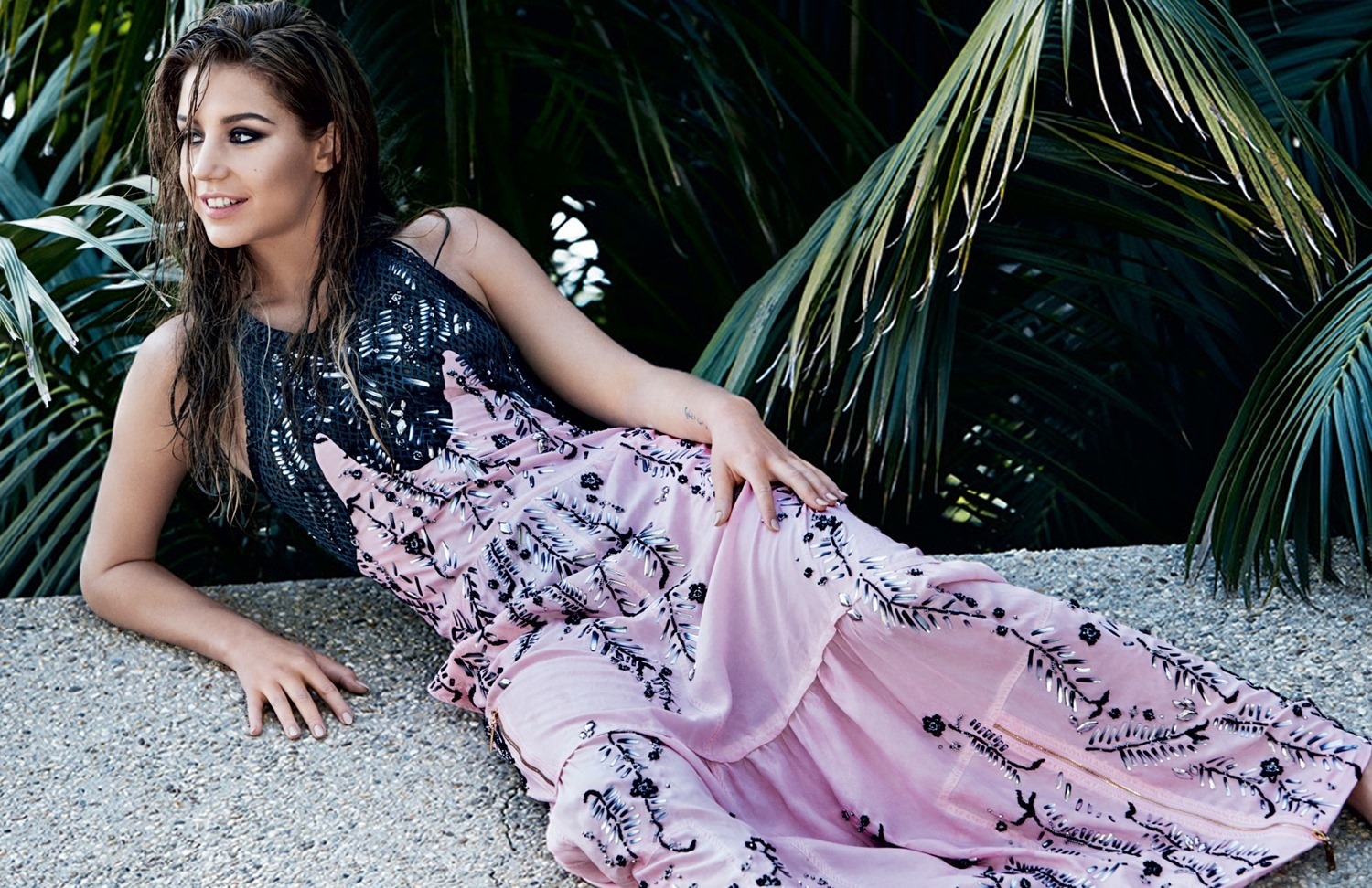 VOGUE RUSSIA: Adele Exarchopoulos By Patrick Demarchelier