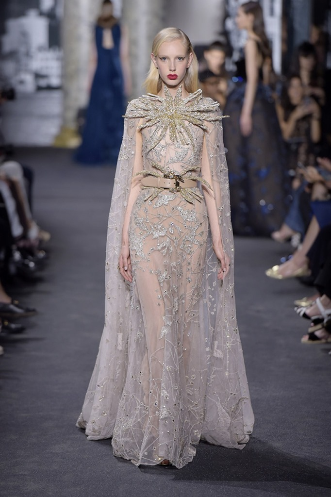 Paris haute couture elie saab couture fall 2016 image for Haute couture houses 2016