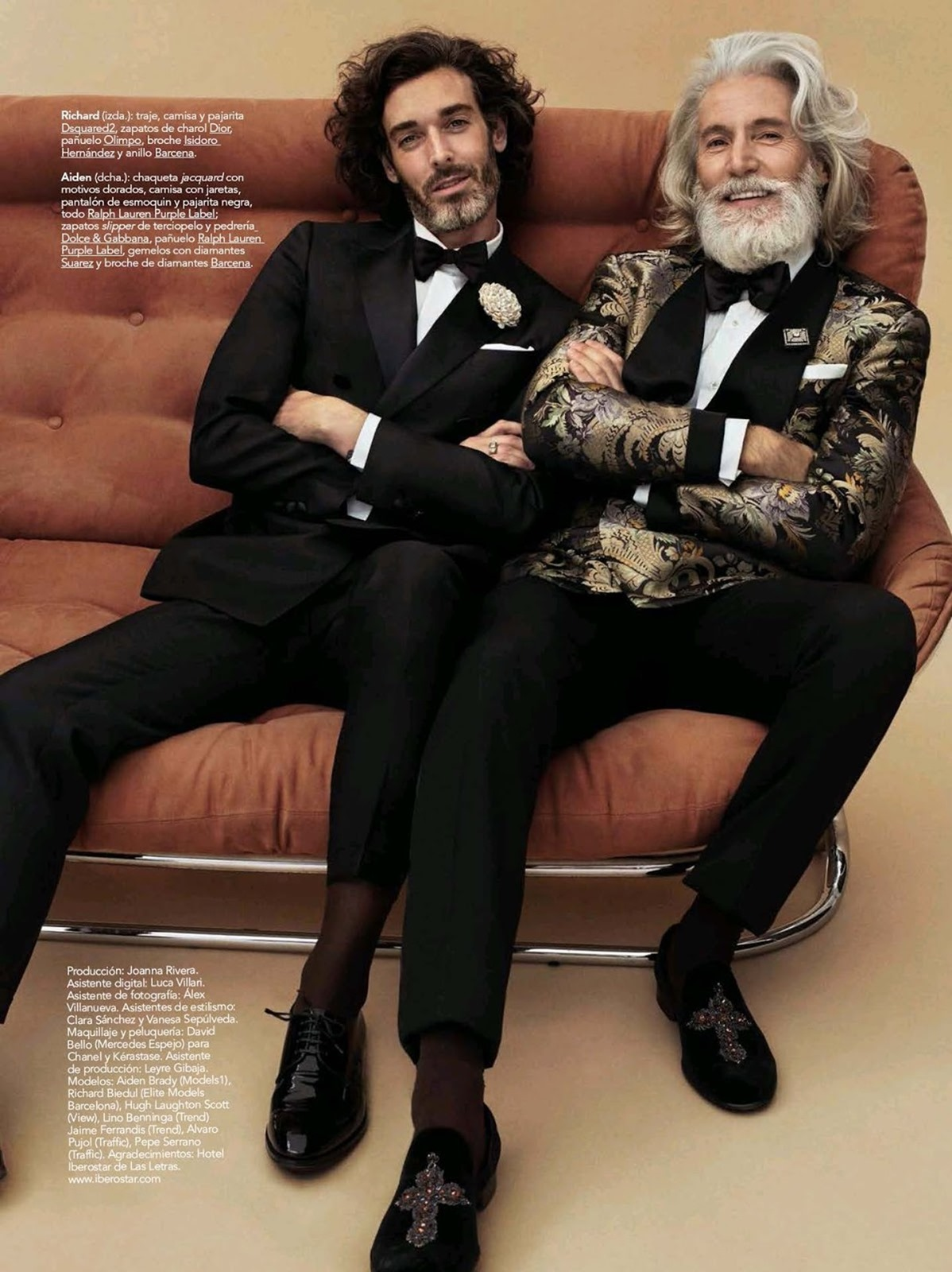 GQ SPAIN: Three Generations by Sergi Pons – Image Amplified