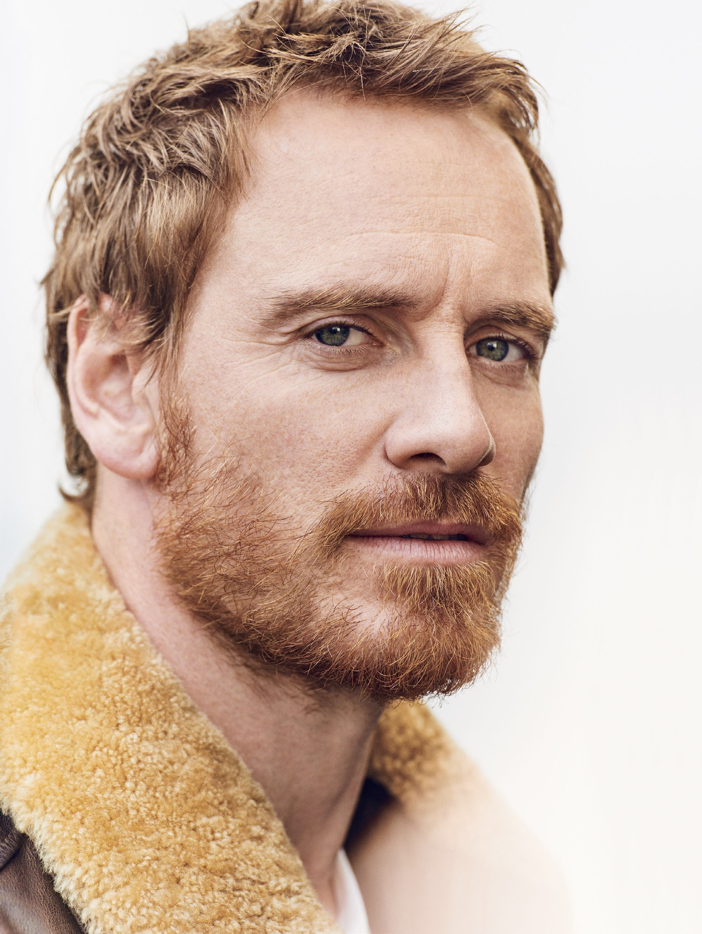 GQ UK: Michael Fassbender by Matthew Brookes - Image Amplified Michael Fassbender