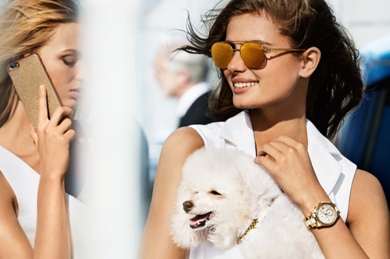 Campaign Taylor Hill Romee Strijd For Michael Kors Spring 2017 By