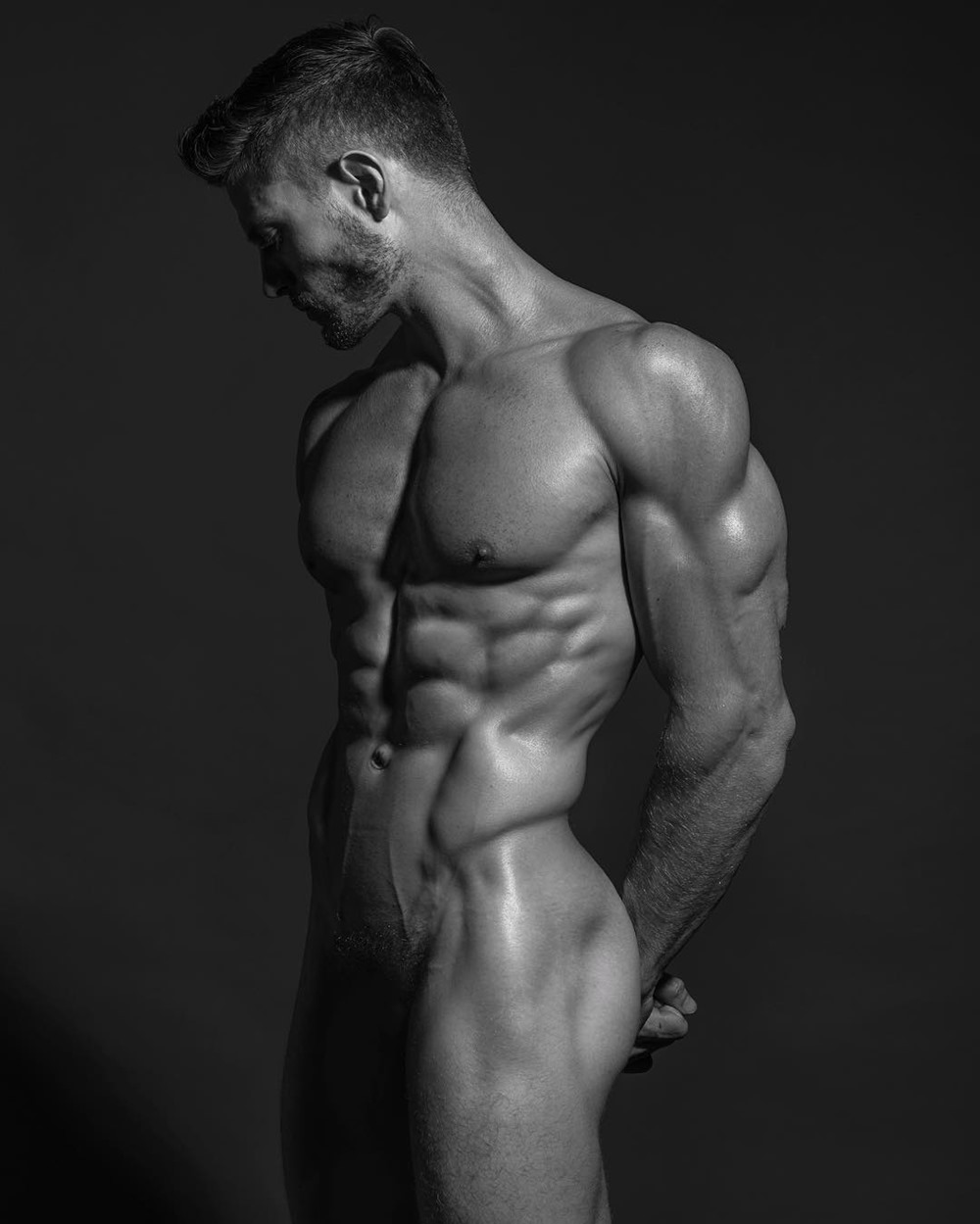 from Sonny sim muscle model gay
