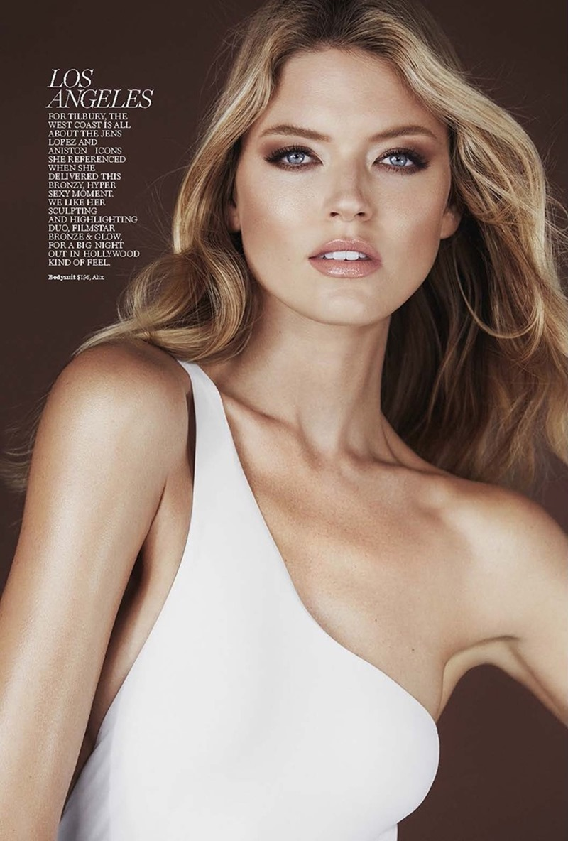 marie claire magazine martha hunt by enrique badulescu