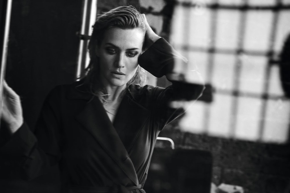 l 39 express styles kate winslet by peter lindbergh image. Black Bedroom Furniture Sets. Home Design Ideas