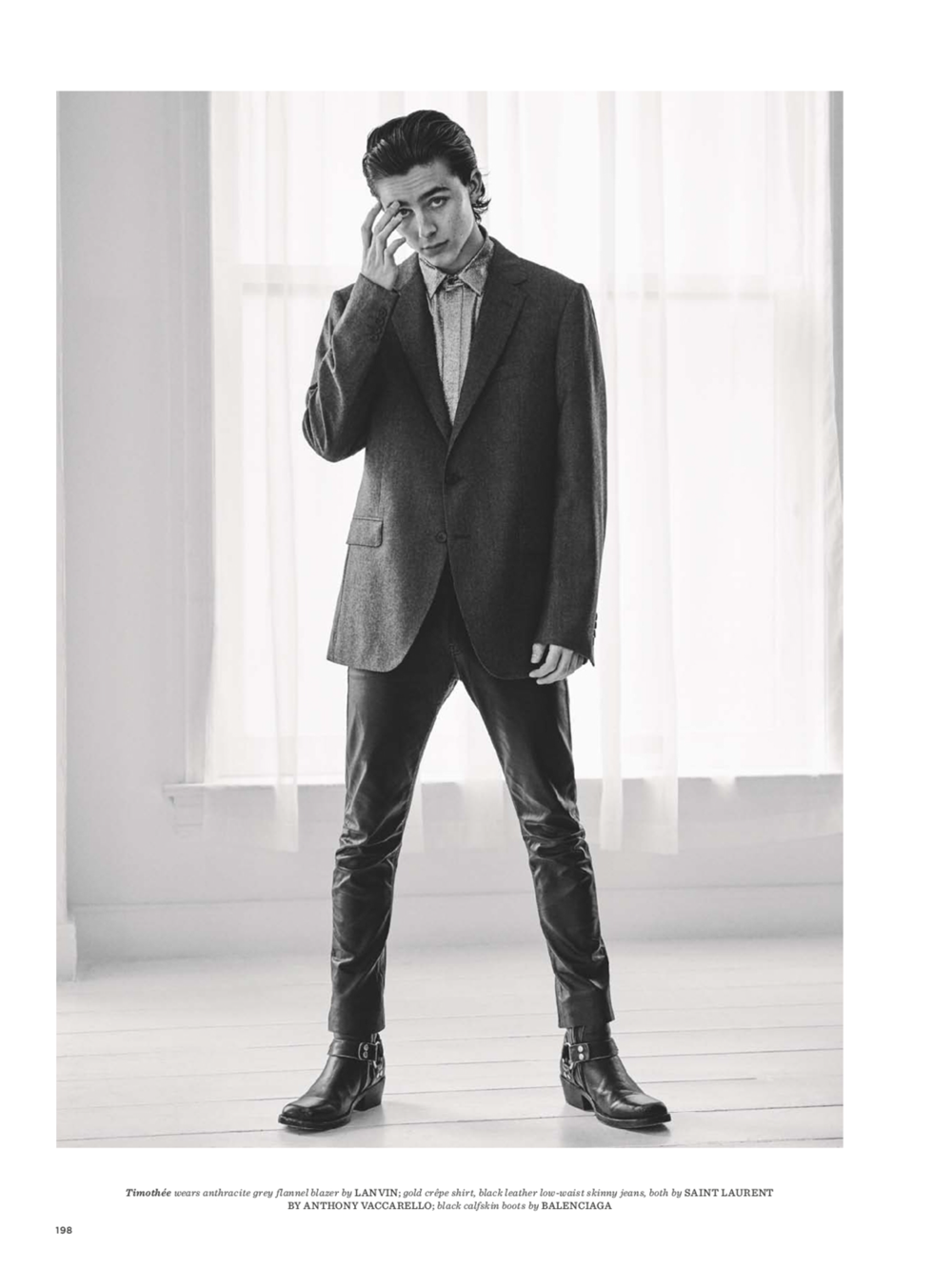 gq style uk  armie hammer  u0026 timothee chalamet by giampaolo