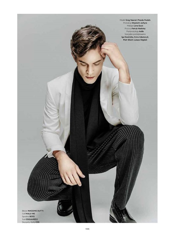 Lofficiel Hommes Poland Greg Nawrat By Wojciech Jachyra