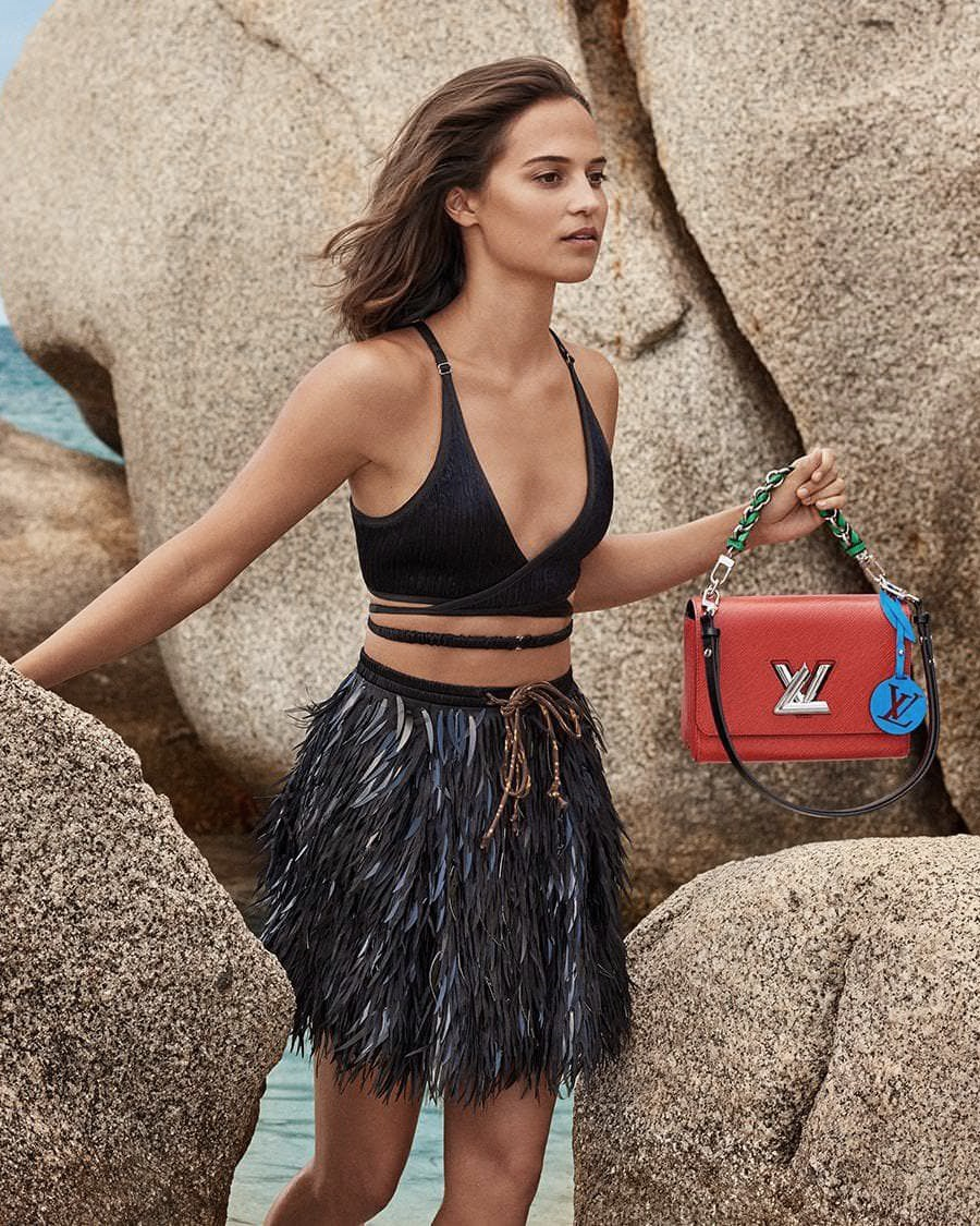 894c7e6b4589 CAMPAIGN  Alicia Vikander for Louis Vuitton Cruise 2019 by Craig McDean