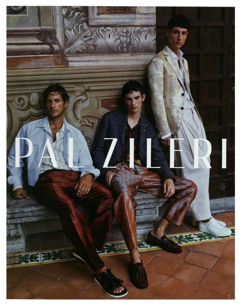 Campaign Axel Hermann For Pal Zileri Spring 2019 By Johan