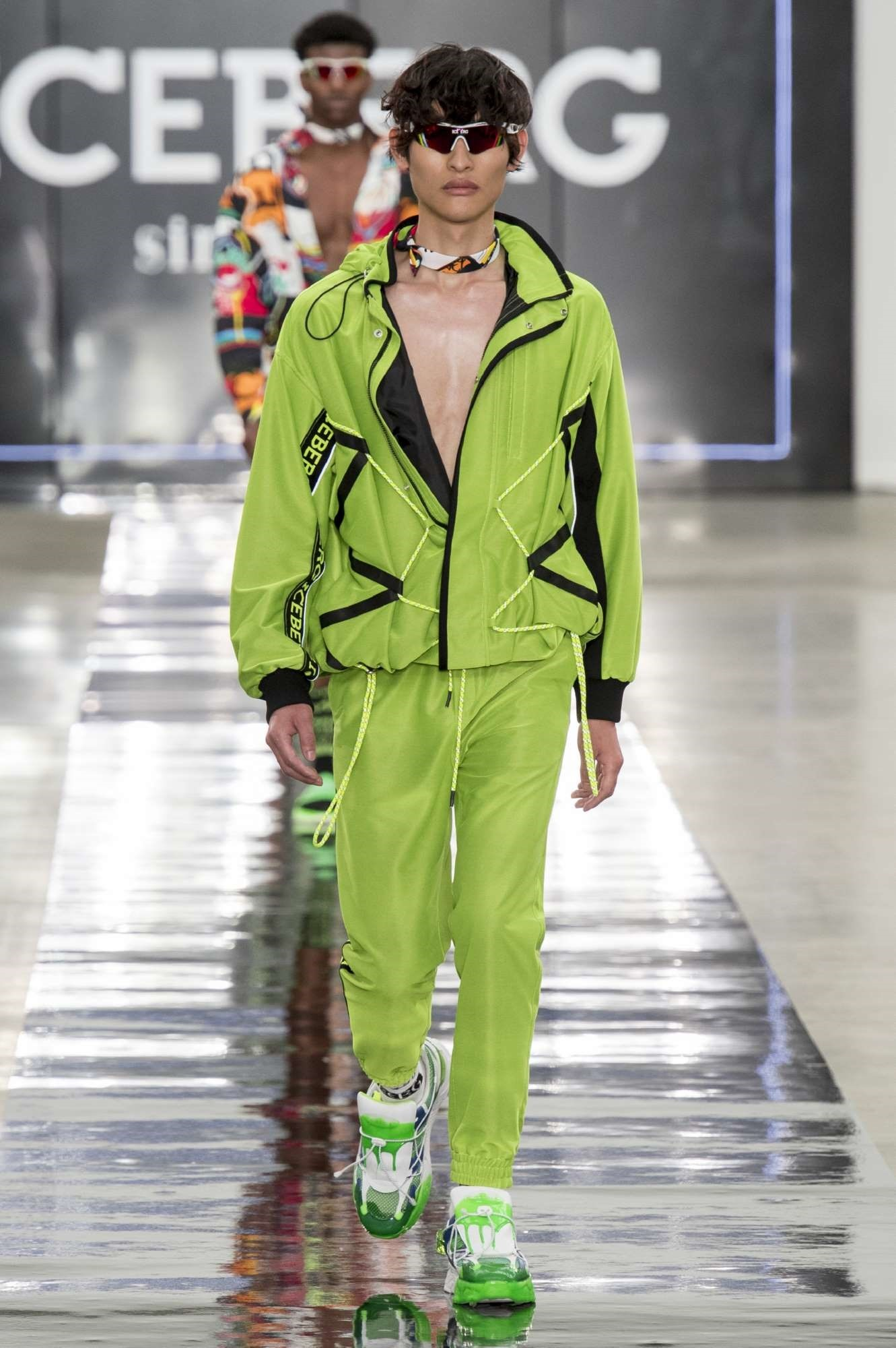 London Fashion Week Men Iceberg Spring 2020 Image Amplified