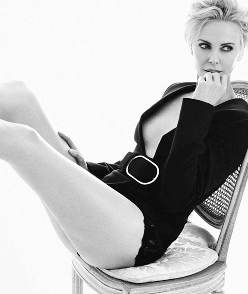 Charlize Theron Explosive in The GQ
